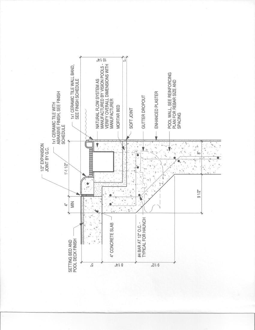 swimming pool drawings pdf