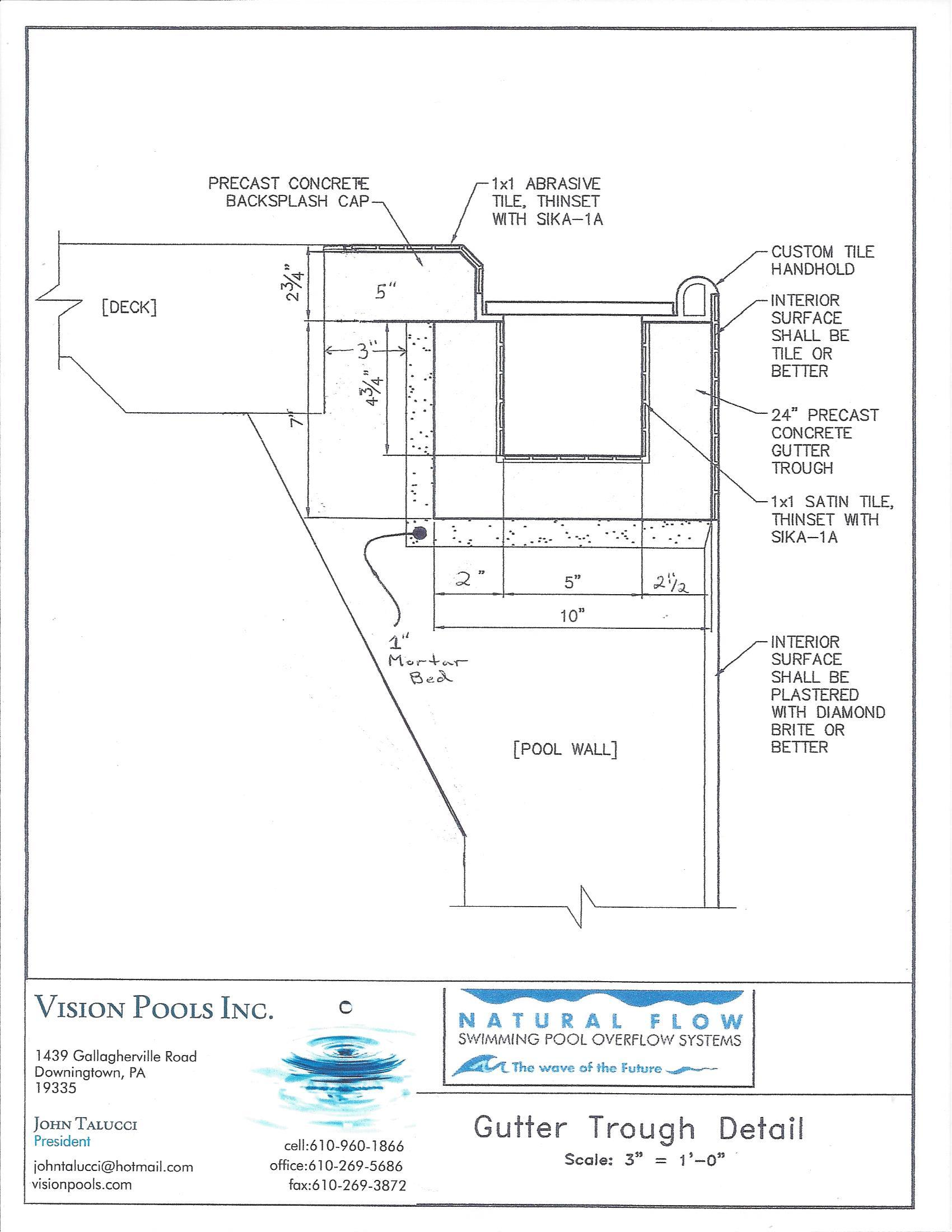 23 swimming pool design drawings pdf decor23 for Swimming pool design details